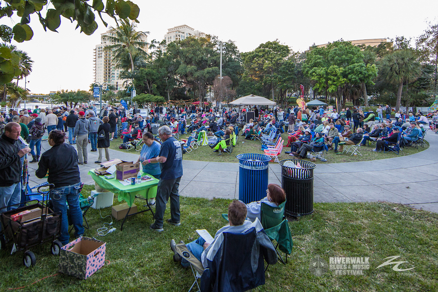 Riverwalk Blues Festival at Esplanade Park