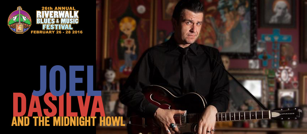 26 Riverwalk Blues Festival - Joel DaSilva and Midnight Howl